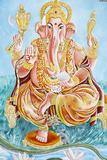 Elephant-Headed Hindu God Ganesh