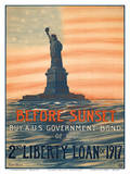 Before Sunset - Buy A US Government Bond of the 2nd Liberty Loan of 1917