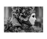 Venetian Carnival B&W