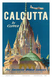 Pan American World Airways (PAA) - Calcutta India by Clipper - Pareshnath Jain Temple