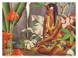 Hawaiian Wahine (Woman) - Dole Pineapple Company
