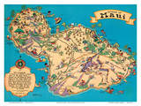 Hawaiian Island Of Maui - Hawaii Tourist Bureau