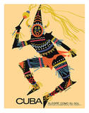 Cuba - Alegre Como Su Sol (Cheerful as Her Sun) - Native Folk Dancer