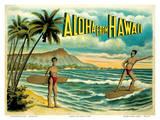 Aloha from Hawaii - Famous Surf Riders - Island Curio Co  Honolulu