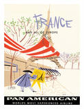 Pan American Airlines (PAA) - France and All Of Europe