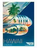 Union de Transports Aériens (UTA) - Hawaii  Le Pacifique (The Pacific)