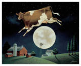 Cow Jumps over the Moon