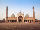 India  Delhi  Old Delhi   Jama Masjid - Jama Mosque Built by Shah Jahan
