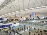 China  Hong Kong  Interior of Hong Kong International Airport