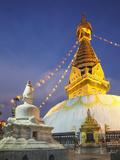 Swayambhunath Stupa (UNESCO World Heritage Site)  Kathmandu  Nepal