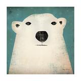 Ours polaire Reproduction d'art par Ryan Fowler