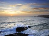 Coastline of Carrapateira Costa Vicentina Nature Park  Portugal  Wild Atlantic Coast in Europe
