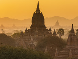 Ancient Temple City of Bagan (Also Pagan) at Sunrise  Myanmar (Burma)