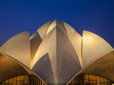 India  Delhi  New Delhi  Bahai House of Worship Know As the The Lotus Temple
