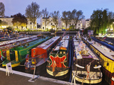 England  London  Little Venice  Canal Boats