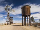 USA  South Dakota  Stamford  1880 Town  Pioneer Village  Windmill