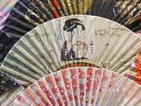 Japan  Tokyo  Asakusa  Asakusa Kannon Temple  Nakamise Shopping Street  Detail of Fans