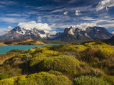 Chile  Magallanes Region  Torres Del Paine National Park  Lago Pehoe  Morning Landscape