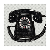 Vintage Analog Phone Giclée premium par Michael Mullan