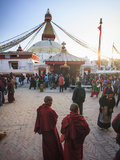 Nepal  Kathmandu  Bodhnath (Boudha) Stupa