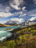 Chile  Magallanes Region  Torres Del Paine National Park  Lago Pehoe  Explora Hotel
