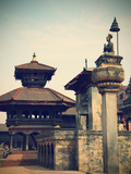 Durbar Square  Bhaktapur (UNESCO World Heritage Site)  Kathmandu Valley  Nepal