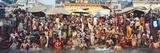 India Uttar Pradesh Varanasi (Benares) Religious Rites in the Holy Ganges