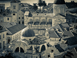 Croatia  Dalmatia  Dubrovnik  Old Town from Old Town Walls  Church of St Blaise