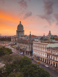 Capitolio  Gran Teatro and Inglaterra Hotel  Havana  Cuba