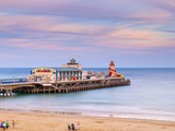 UK  England  Dorset  Bournemouth  West Cliff Beach Main Pier