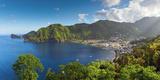 Caribbean  St Lucia  Soufriere  Soufriere Bay