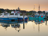 UK  England  Dorset  Lymington  the Quay on Lymington River  Fishing Boats