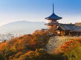 Japan  Honshu  Kansai Region  Kiyomizu-Dera