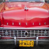 Classic American Car (Pontiac)  Havana  Cuba