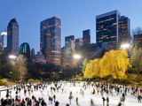 USA  New York City  Manhattan  Wollman Ice Rink in Central Park