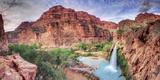 USA  Arizona  Gran Canyon  Havasu Canyon (Hualapai Reservation)  Havasu Falls
