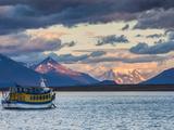 Chile  Magallanes Region  Puerto Natales  Seno Ultima Esperanza Bay  Tour Boat