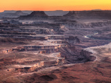 USA  Utah  Canyonlands National Park  Island in the Sky District  Grand View Point