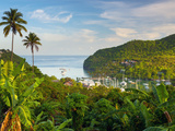 Caribbean  St Lucia  Marigot  Marigot Bay