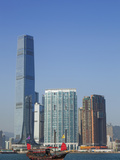 China  Hong Kong  Kowloon Skyline and International Commerce Centre Building (ICC)