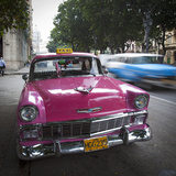 Classic American Car (Chevrolet)  Paseo Del Prado  Havana  Cuba