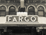 USA  North Dakota  Fargo  Fargo Theater  Marquee