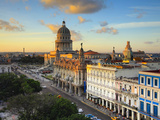 Capitolio and Parque Central  Havana  Cuba