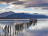 Chile  Magallanes Region  Puerto Natales  Seno Ultima Esperanza Bay  Landscape