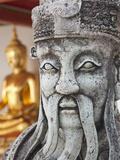 Thailand  Bangkok  Wat Pho  Chinese Statue