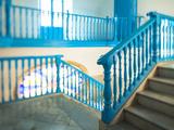 Staircase of a Casa in Habana Vieja  Havana  Cuba