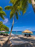 Caribbean  St Lucia  Soufriere  Anse Chastanet  Anse Chastanet Beach
