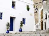 Old City of Ibiza Town  Ibiza  Balearic Islands  Spain