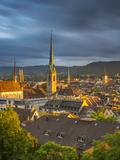 City Skyline  Zurich  Switzerland