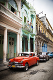 Classic American Car (Plymouth)  Havana  Cuba